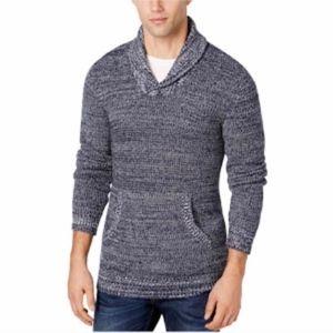 American Rag Heathered Blue Sweater Size XL